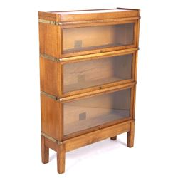 Antique Globe-Wernicke Section Barrister Bookcase