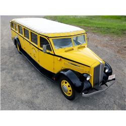 1936 White Motor Co Model 706 Yellowstone Park Bus