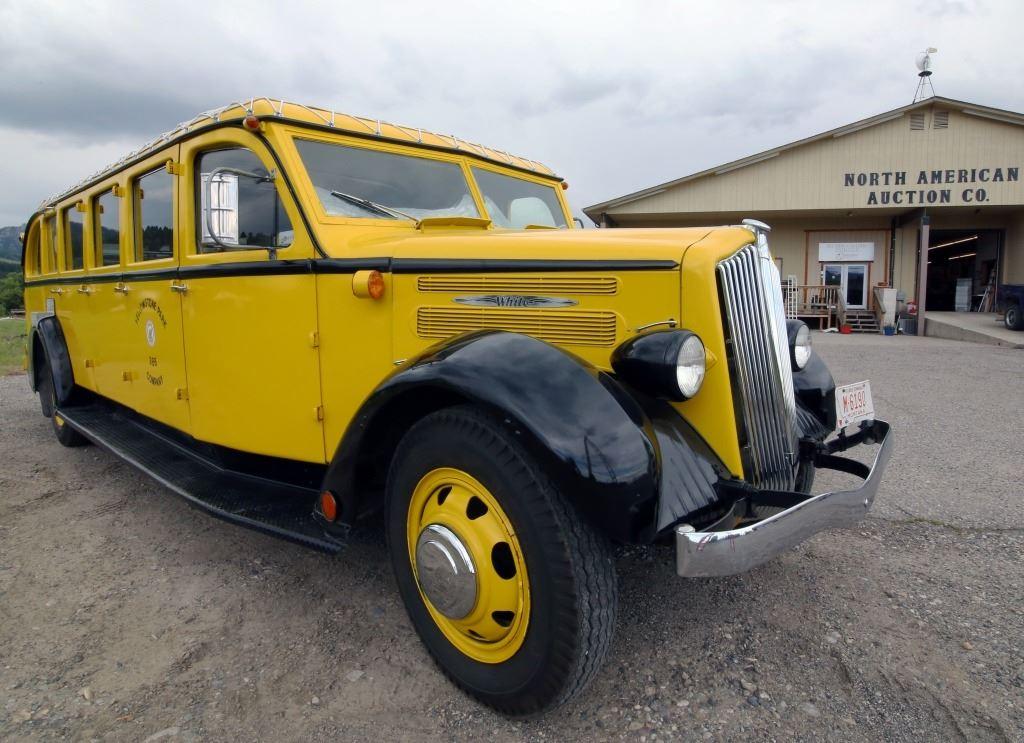 ... Image 5 : 1936 White Motor Co Model 706 Yellowstone Park Bus ...