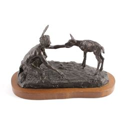Original Bob Scriver Bronze Sculpture