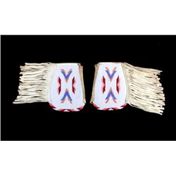 Sioux Native American Beaded Cuffs