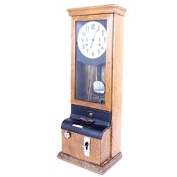 International Time Recording Co. Railroad Clock