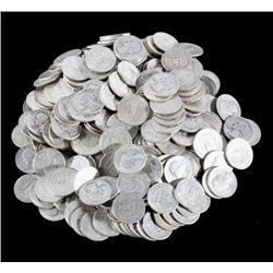 Large Collection of Washington Silver Quarters 344