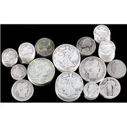 615.9 Grams of Early American Silver Coins x134