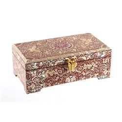 Chinese Mother of Pearl and Abalone Jewelry Box