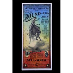 Black Hills Round-Up Poster by Bob Coronato