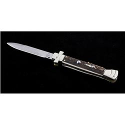 Campolin Maltese Cross Italian Switchblade Knife