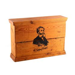 Nathannial Bostock Wooden Countertop Store Display