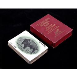 Haynes Yellowstone National Park Playing Cards