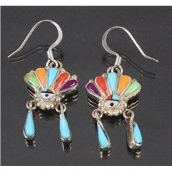Navajo Ornate Earrings