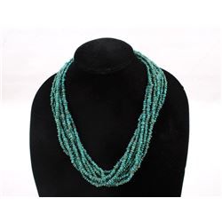 Navajo Chipped Turquoise Necklace