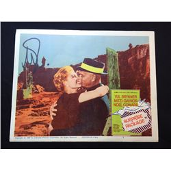 """1960 """"SURPRISE PACKAGE"""" LOBBY SCENE CARD, #5 IN SET, SIGNED BY YUL BRYNER"""