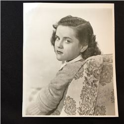BARBARA WHITING SMITH SIGNED 8'' X 10'' PHOTOGRAPH