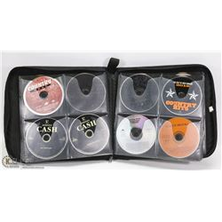 CD BINDER FILLED WITH POP, COUNTRY MUSIC