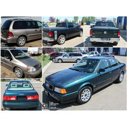 FEATURED UNRESERVED RAM , FREESTAR AND AUDI 90