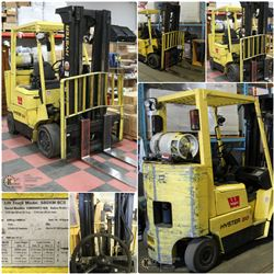 FEATURED 2003 HYSTAR S80XM 8000LBS FORKLIFT