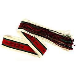 Beautiful Native American Hopi Woven Dance Sash