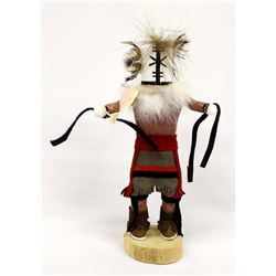 Native American Hopi Rattle Kachina by L. Mariano