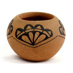 Taos Miniature Micaceous Clay Pot by Dawn Antelope