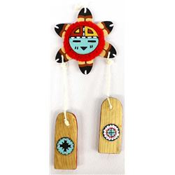 Native American Hopi Carved Wood Wall Hanging