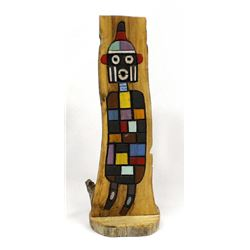 Hopi Fire God Kachina by Delbridge Honanie