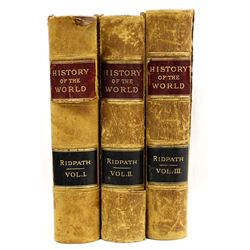 History of the World by Horace Greeley, 3 Volumes