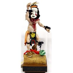 Hopi Pipcuka Clown Kachina by Larry Hobbs