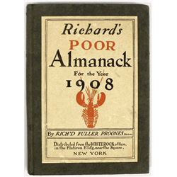 Poor Richard's Almanack for the Year 1908