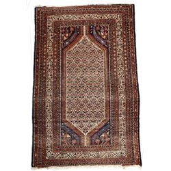 Older Northwest Iranian Hand Knotted Persian Rug
