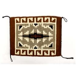 Native American Navajo Wool Textile Sampler