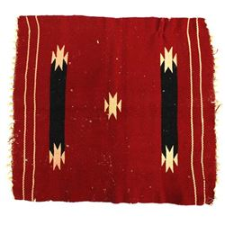 Early 1900's Navajo Wool Textile Rug