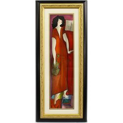 Signed & Numbered Serigraph Print ''Fanny'' by Linda Le Kinff