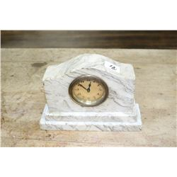 Small Marble Clock