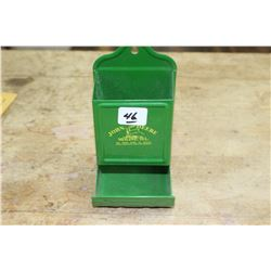 John Deere Match Box Holder