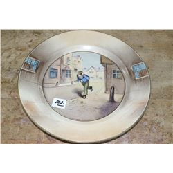 Old Oliver Twist Collector Plate - Made in England