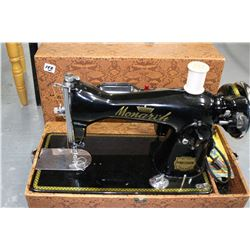Vintage Monarch Portable Sewing Machine