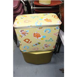 Vintage Laundry Hampers (2)