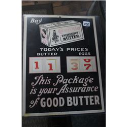 Country Maid Butter Advertising
