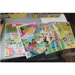 Collectible Comics - Archie; Rickie Rich; Popeye & Laugh