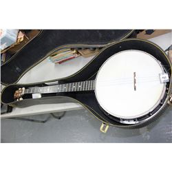 Kay Beginners Banjo with Case