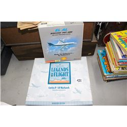 Cast Iron Airplanes (2) - in boxes