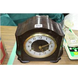 Bakelite Clock - Made in Great Britain - With a Key