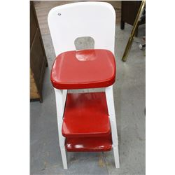 Kitchen Stool with Step