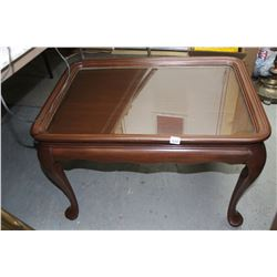 Queen Anne Style Table with Insert