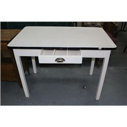 Baker's Table with Metal Top