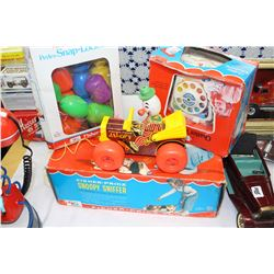 4 Fisher Price Toys in Original Boxes