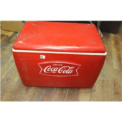 1960's Metal Coke Cooler
