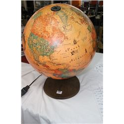 Old Lighted Globe - Working