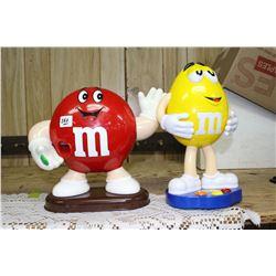 2 M & M Dispensers