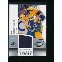 17-18 SP GU All Star Skills Fabrics P.K. Subban